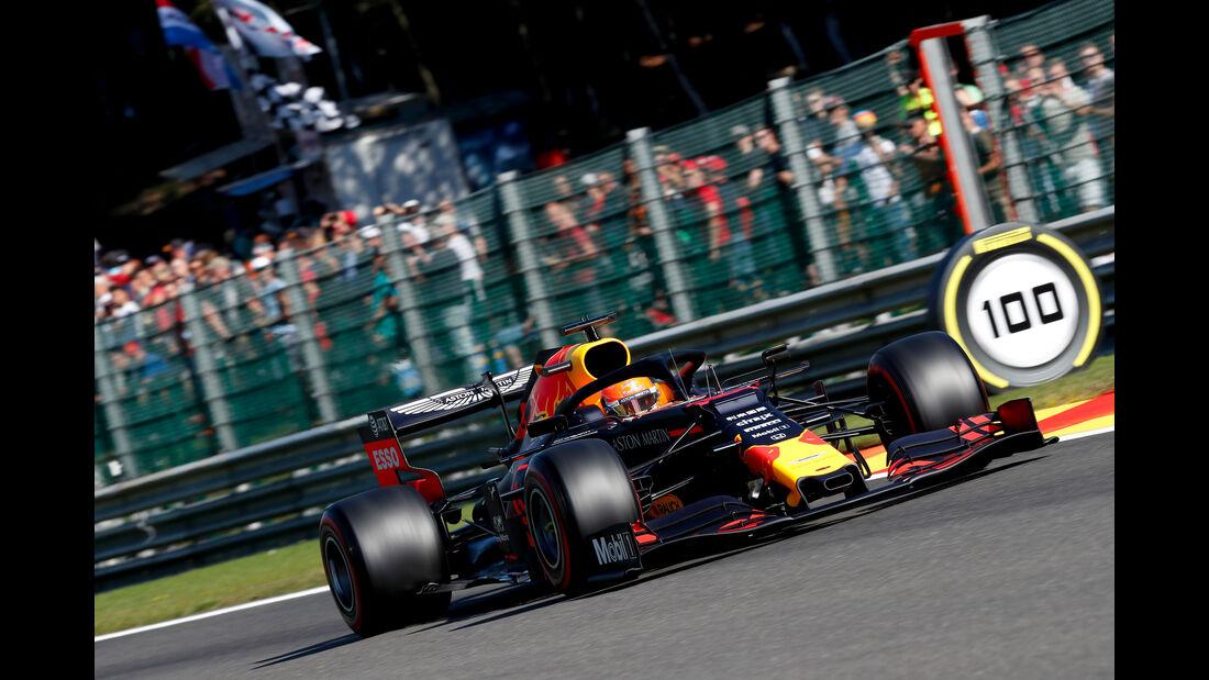 Max Verstappen - Red Bull - GP Belgien - Spa-Francorchamps - Formel 1 - Freitag - 30.8.2019
