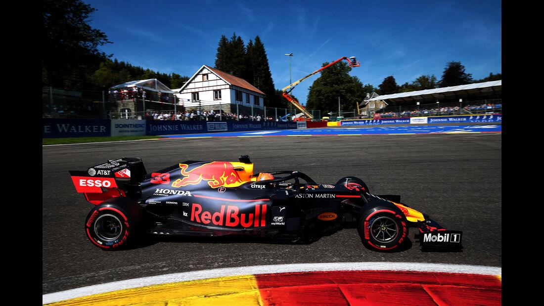 Max Verstappen - Red Bull - GP Belgien - Spa-Francorchamps - Formel 1 - Samstag - 31.8.2019