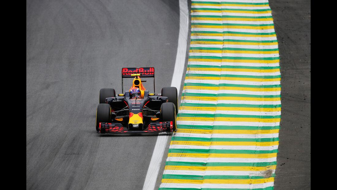 Max Verstappen - Red Bull - GP Brasilien 2016 - Interlagos - Qualifying