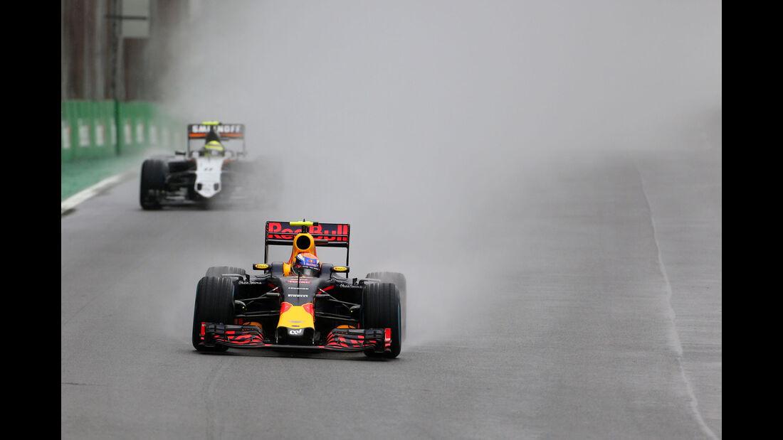 Max Verstappen - Red Bull - GP Brasilien 2016 - Interlagos - Rennen