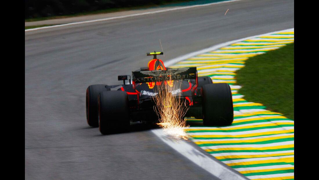 Max Verstappen - Red Bull - GP Brasilien - Interlagos - Formel 1 - Freitag - 9.11.2018