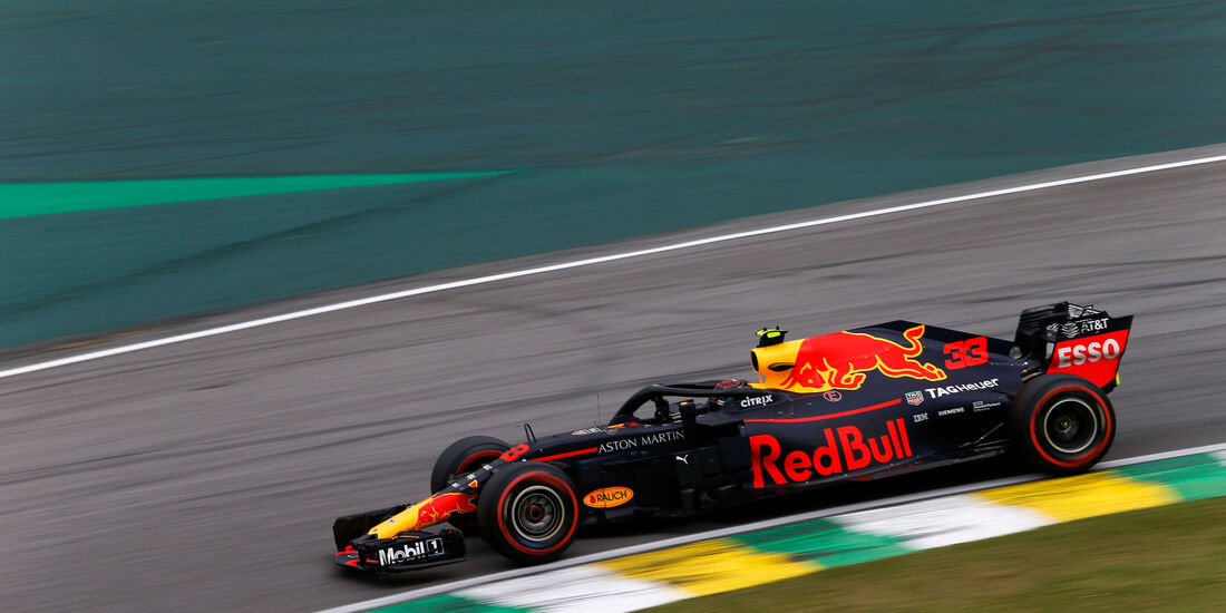Max Verstappen - Red Bull - GP Brasilien - Interlagos - Formel 1 - Samstag - 10.11.2018