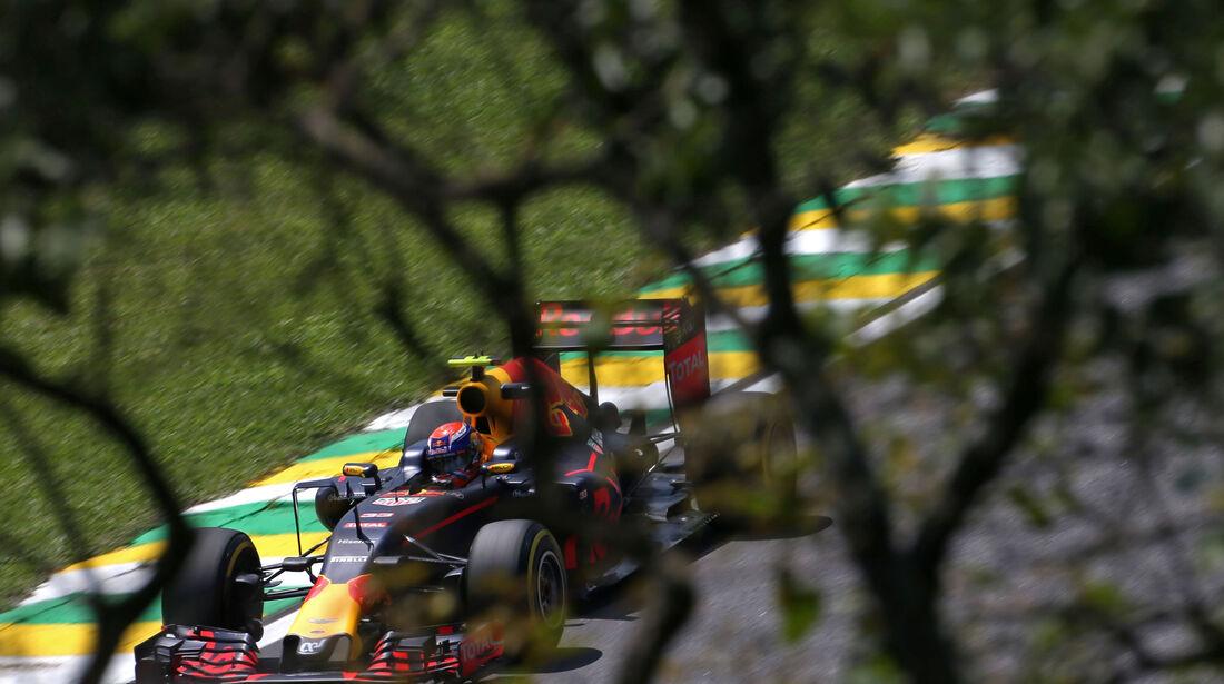 Max Verstappen - Red Bull - GP Brasilien - Interlagos - Freitag - 11.11.2016