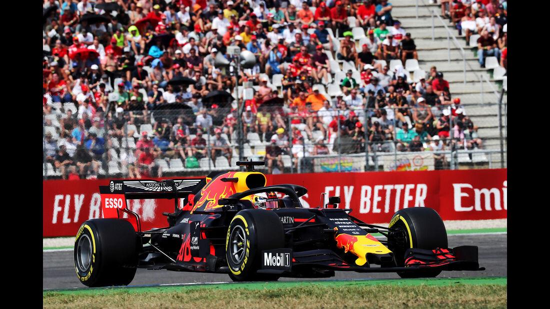 Max Verstappen - Red Bull - GP Deutschland 2019 - Hockenheim - Qualifying