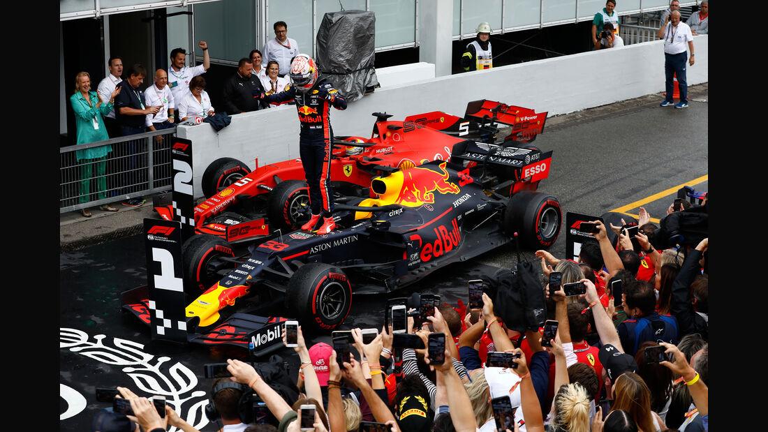 Max Verstappen - Red Bull - GP Deutschland 2019 - Hockenheim - Rennen