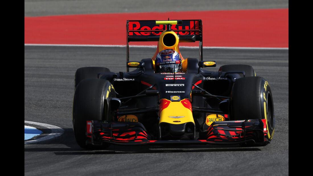 Max Verstappen - Red Bull - GP Deutschland - Formel 1 - 29. Juli 2016