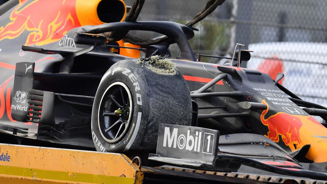Max Verstappen - Red Bull - GP Emilia-Romagna 2020 - Imola - Rennen