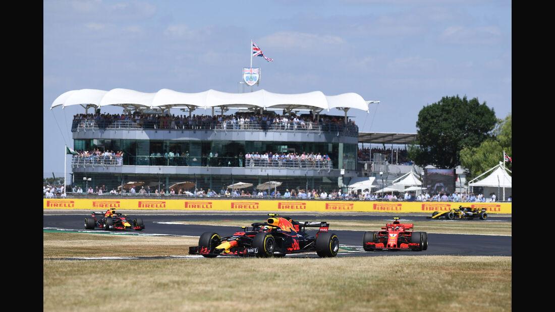 Max Verstappen - Red Bull - GP England 2018 - Silverstone - Rennen