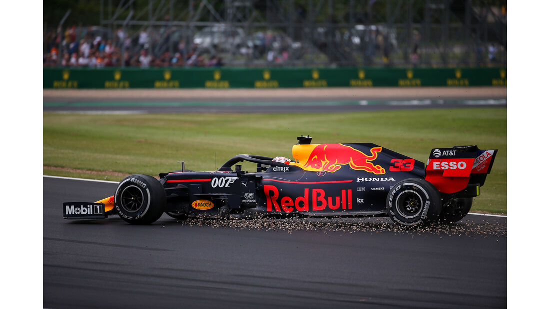 Max Verstappen - Red Bull - GP England 2019 - Silverstone - Rennen