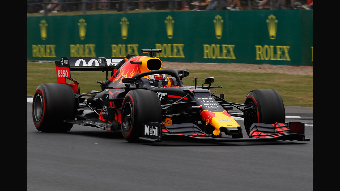 Max Verstappen - Red Bull - GP England 2019