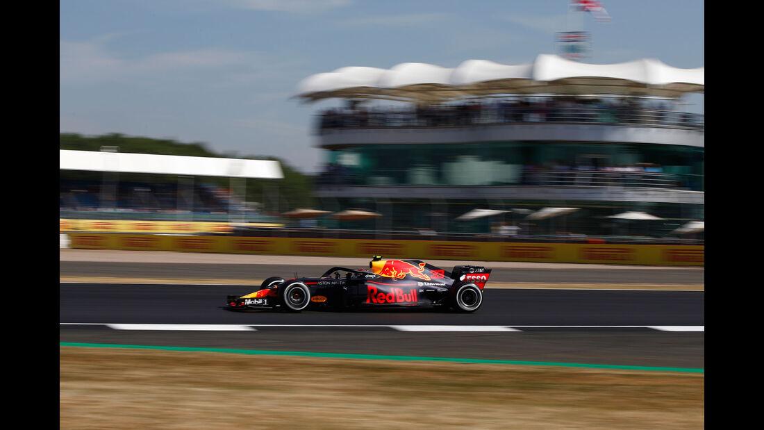 Max Verstappen - Red Bull - GP England - Silverstone - Formel 1 - Freitag - 6.7.2018