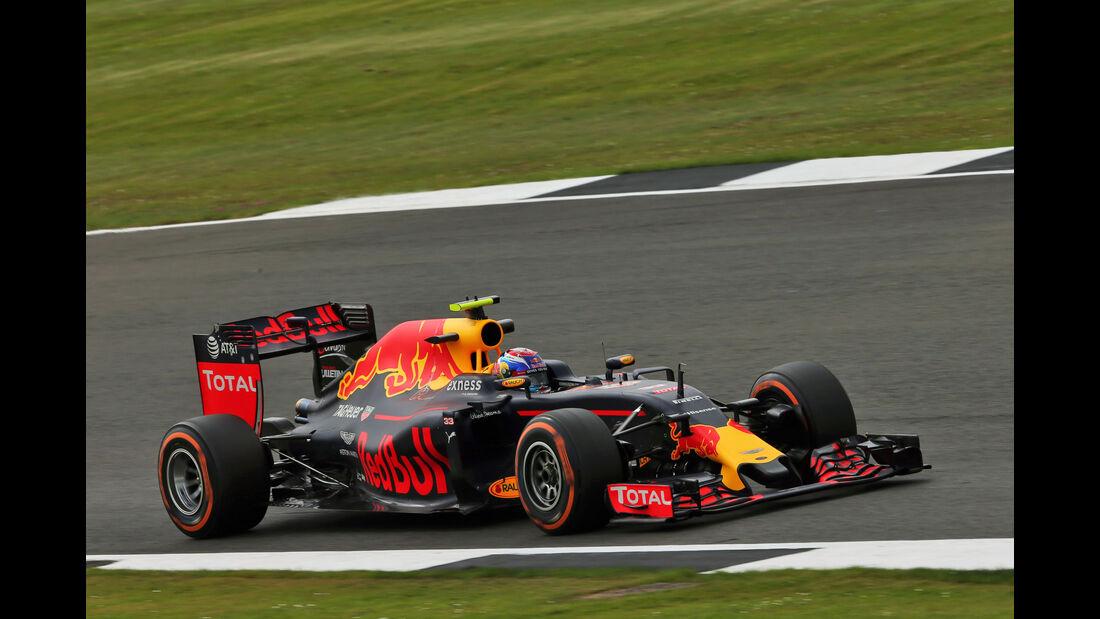 Max Verstappen - Red Bull - GP England - Silverstone - Formel 1 - Freitag - 8.7.2016