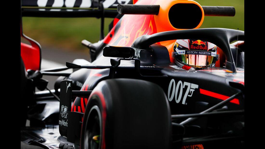 Max Verstappen - Red Bull - GP England - Silverstone - Freitag - 12.7.2019