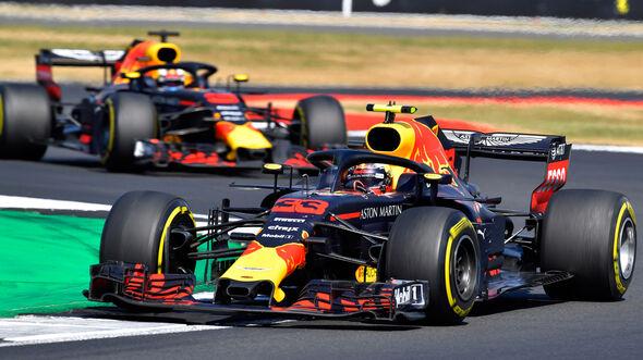 Max Verstappen - Red Bull - GP England