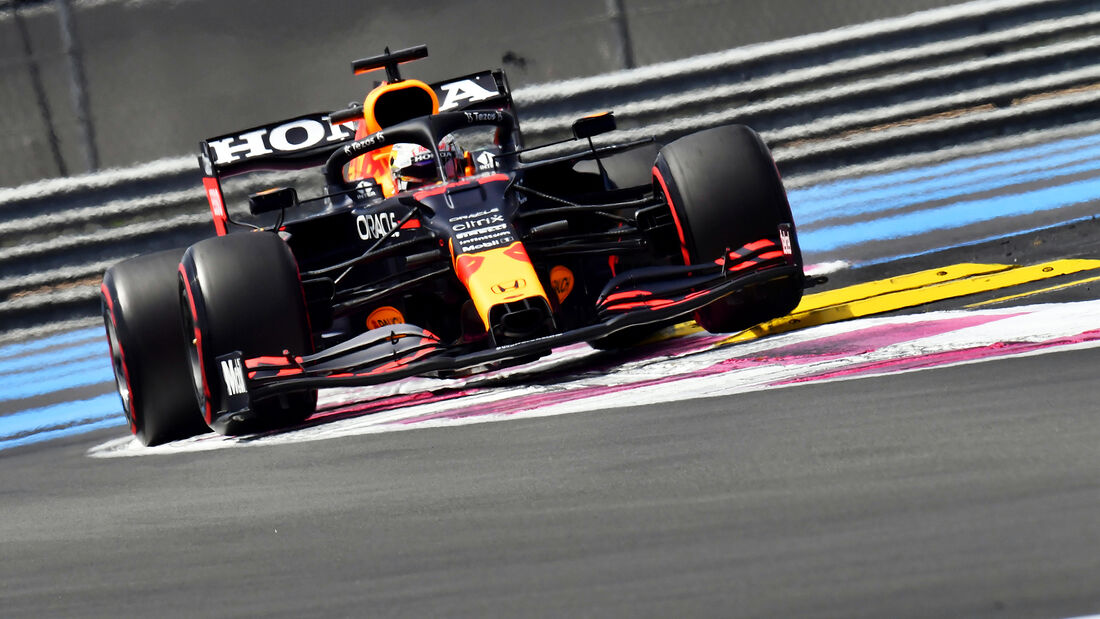 Max Verstappen - Red Bull - GP Frankreich 2021 - Paul Ricard - Freitag