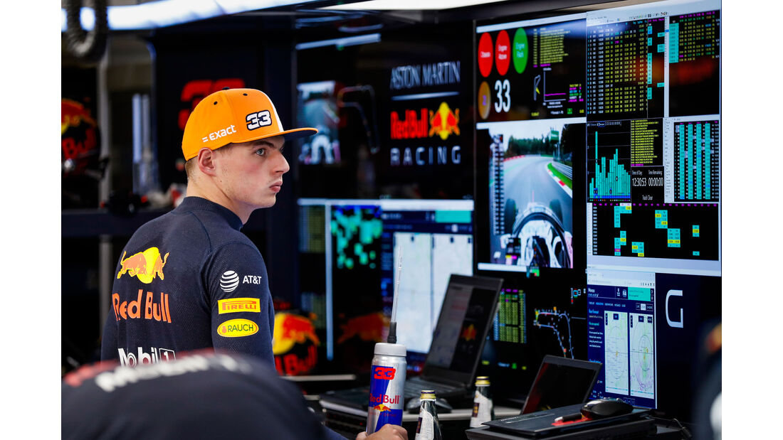 Max Verstappen - Red Bull - GP Italien 2018