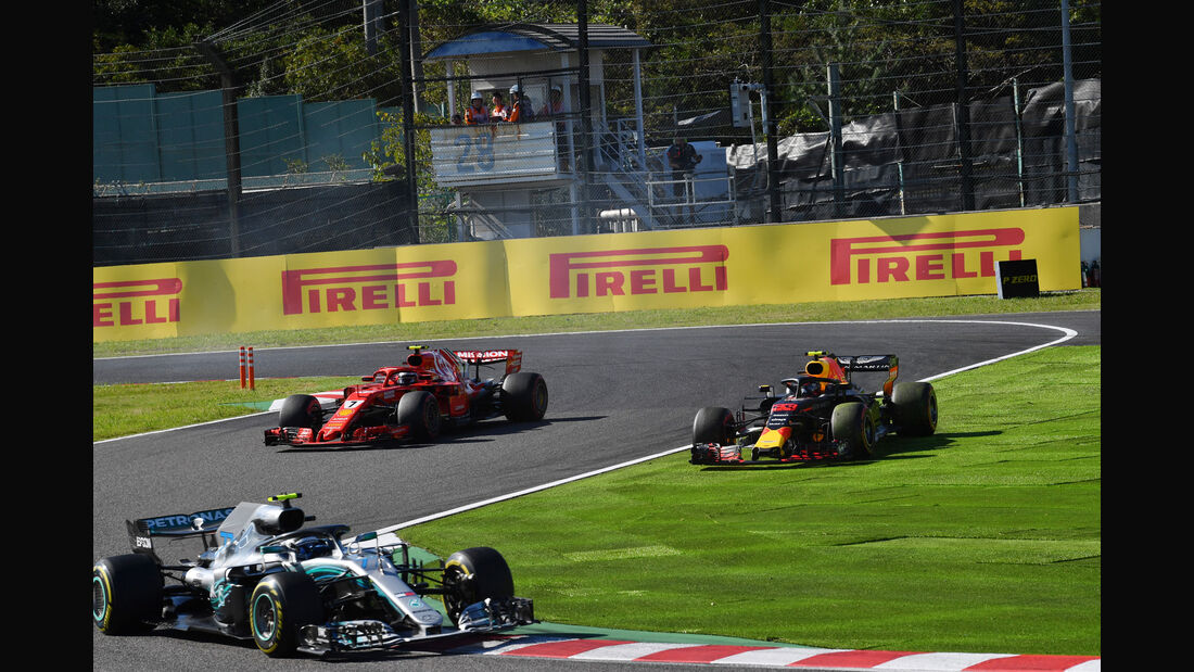Max Verstappen - Red Bull - GP Japan 2018 - Suzuka - Rennen