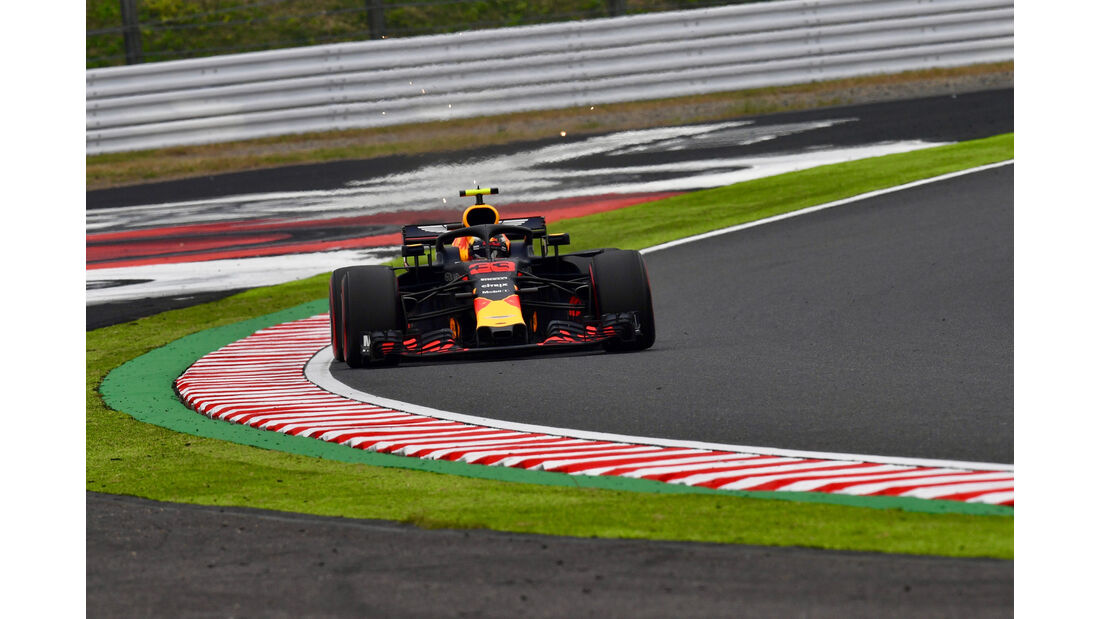 Max Verstappen - Red Bull - GP Japan - Suzuka - Formel 1 - Freitag - 5.10.2018