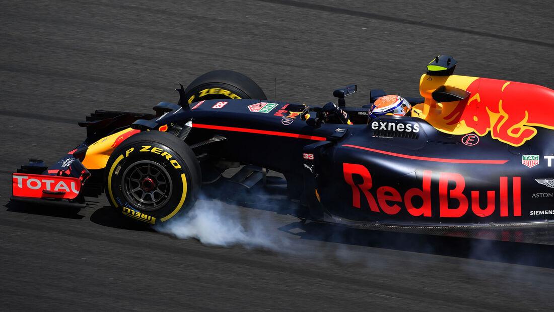 Max Verstappen - Red Bull - GP Malaysia 2016