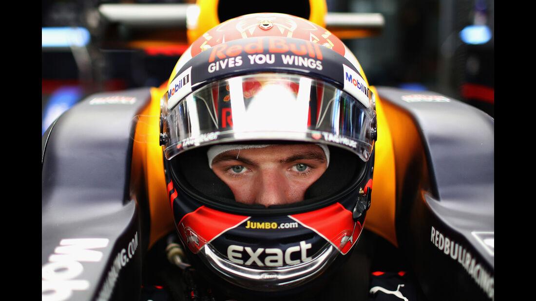 Max Verstappen - Red Bull - GP Malaysia - Sepang - 29. Oktober 2017