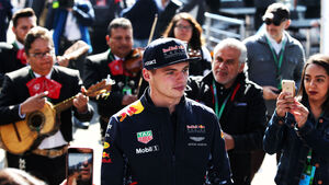 Max Verstappen - Red Bull - GP Mexiko - Formel 1 - Donnerstag - 26.10.2017