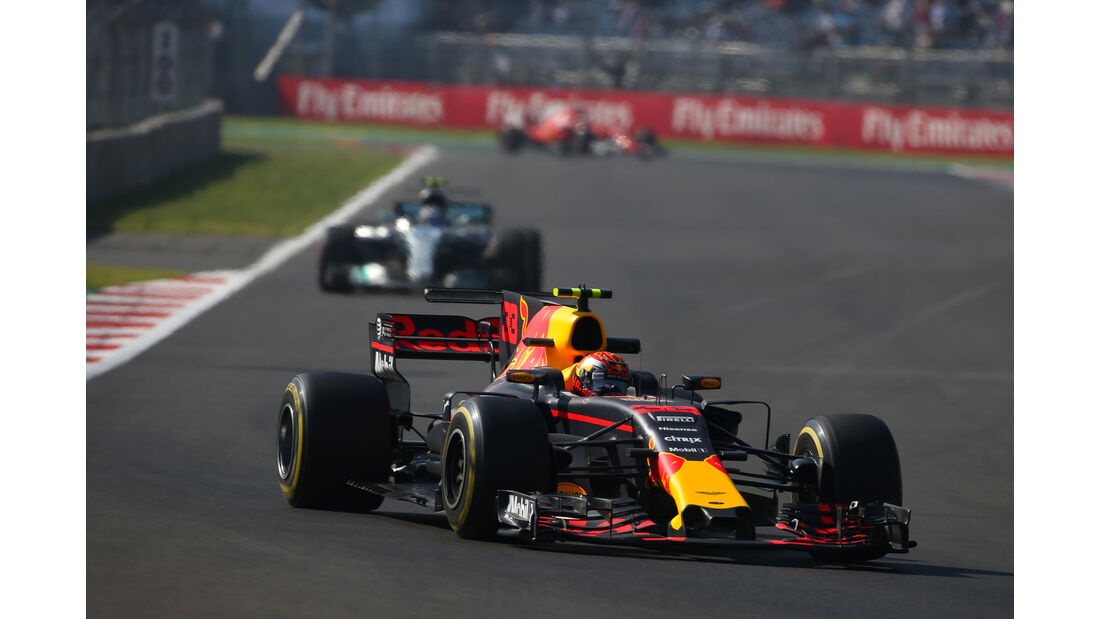 Max Verstappen - Red Bull - GP Mexiko - Formel 1 - Freitag - 27.10.2017