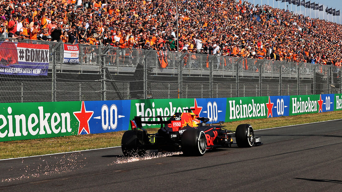 Max Verstappen - Red Bull - GP Niederlande - Zandvoort - Formel 1 - 3. September 2021