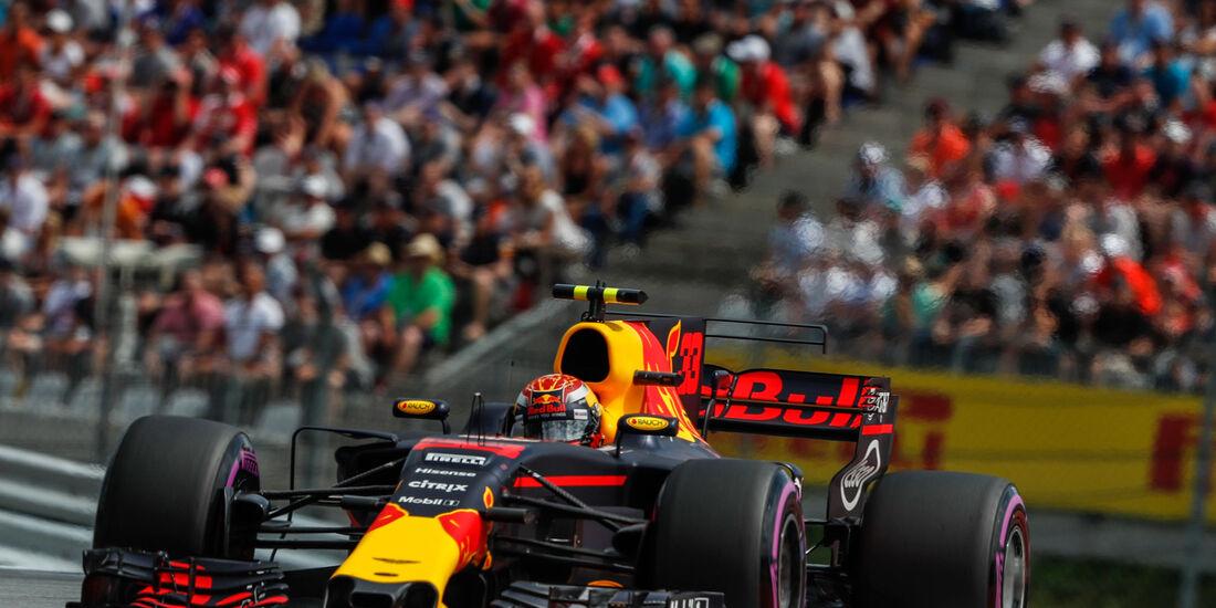 Max Verstappen - Red Bull - GP Österreich 2017 - Spielberg - Qualifying