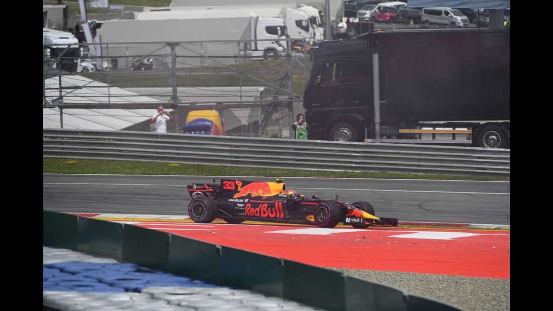 Max Verstappen - Red Bull - GP Österreich 2017 - Spielberg - Rennen