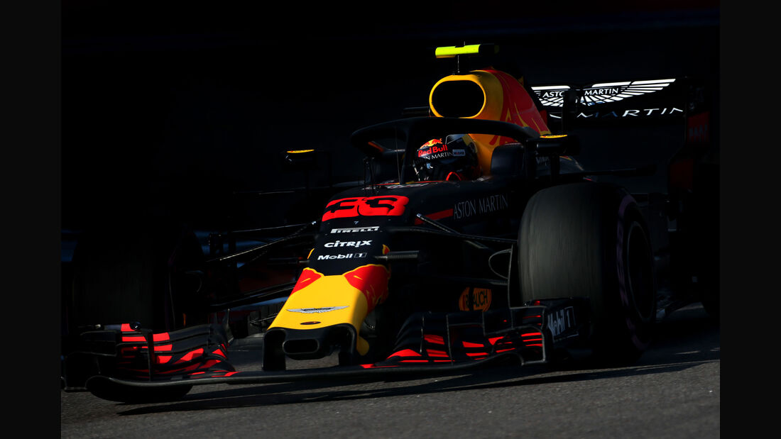 Max Verstappen - Red Bull - GP Russland 2018 - Sotschi - Qualifying