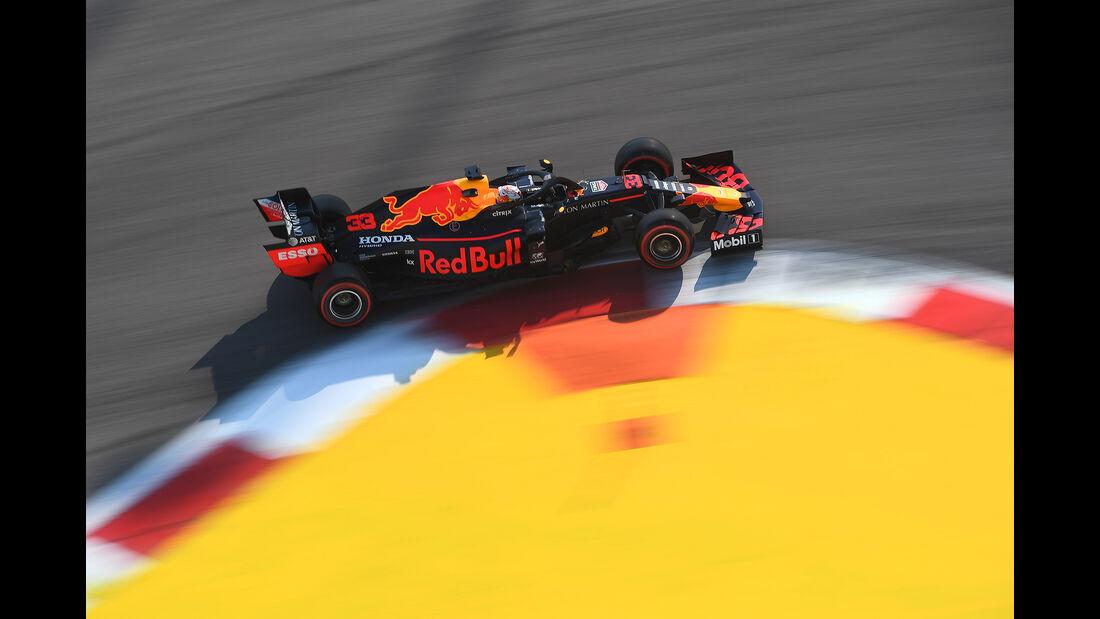 Max Verstappen - Red Bull - GP Russland 2019 - Sotschi - Qualifying