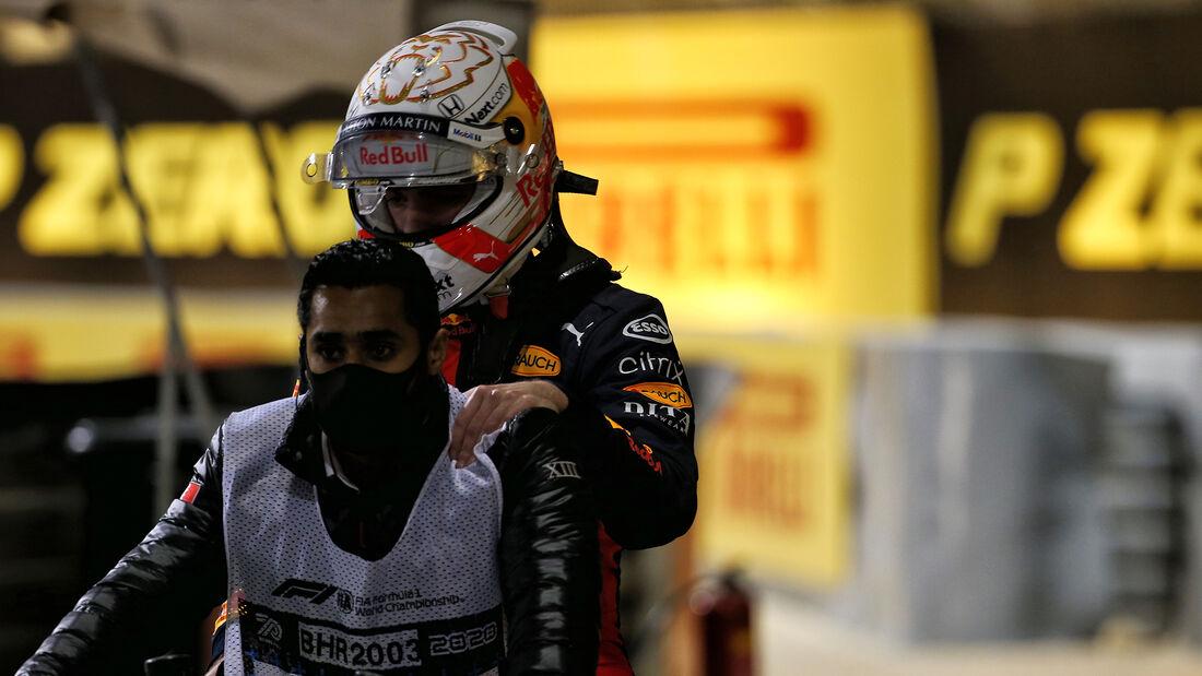Max Verstappen - Red Bull - GP Sakhir 2020 - Bahrain - Rennen