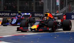 Max Verstappen - Red Bull - GP Singapur 2019