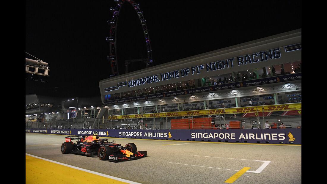 Max Verstappen - Red Bull - GP Singapur 2019 - Qualifying