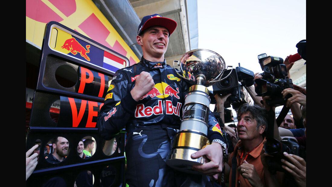 Max Verstappen - Red Bull - GP Spanien 2016 - Barcelona