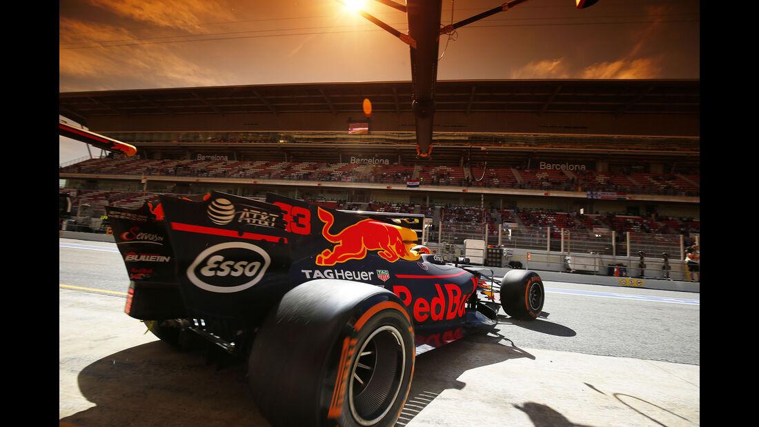 Max Verstappen - Red Bull - GP Spanien - Barcelona - 12. Mai 2017