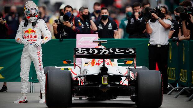 Max Verstappen - Red Bull - GP Türkei - Istanbul - Formel 1 - 9. Oktober 2021