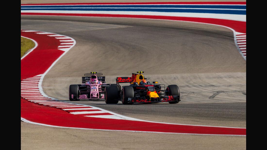 Max Verstappen - Red Bull - GP USA 2017 - Qualifying