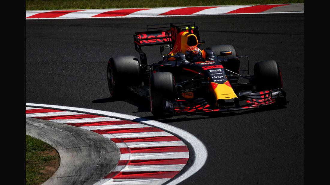 Max Verstappen - Red Bull - GP Ungarn 2017 - Budapest - Qualifying
