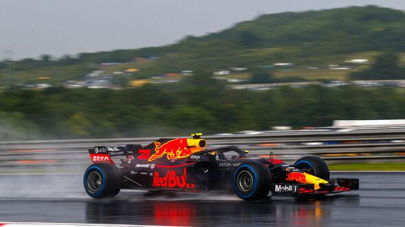 Max Verstappen - Red Bull - GP Ungarn 2018 - Qualifying