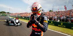 Max Verstappen - Red Bull - GP Ungarn 2019 - Budapest - Qualifying