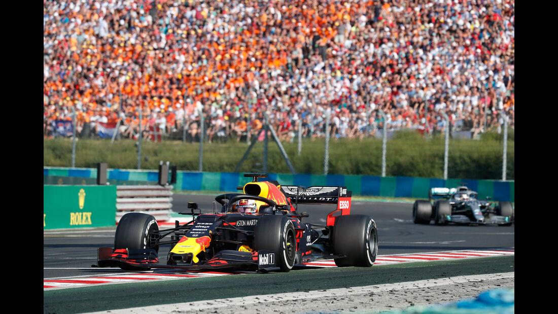 Max Verstappen - Red Bull - GP Ungarn 2019 - Budapest - Rennen