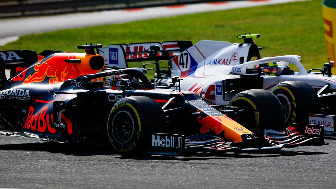 Max Verstappen - Red Bull - GP Ungarn 2021 - Budapest - Rennen