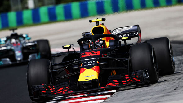 Max Verstappen - Red Bull - GP Ungarn - Budapest - Formel 1 - 27.7.2018