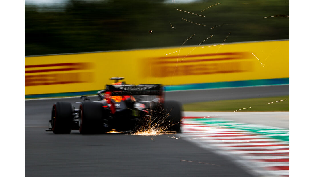 Max Verstappen - Red Bull - GP Ungarn - Budapest - Formel 1 - Freitag - 1.8.2019
