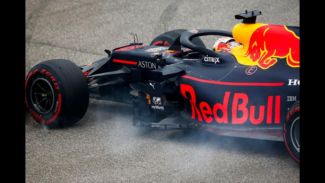 Max Verstappen - Red Bull - GP Ungarn - Budapest - Formel 1 - Freitag - 2.8.2019