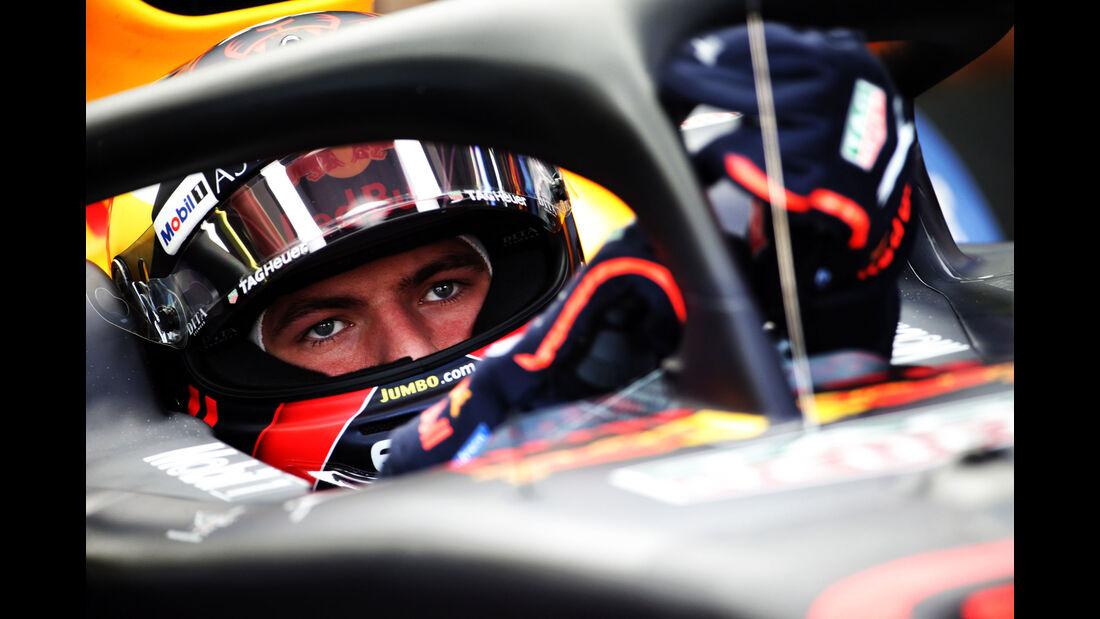 Max Verstappen - Red Bull - GP Ungarn - Budapest - Formel 1 - Freitag - 27.7.2018
