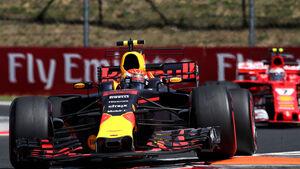 Max Verstappen - Red Bull - GP Ungarn - Budapest - Freitag - 28.7.2017