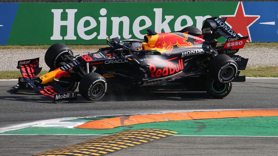 Max Verstappen - Red Bull - Lewis Hamilton - Mercedes - GP Italien 2021 - Monza