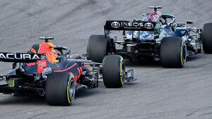 Max Verstappen - Red Bull - Lewis Hamilton - Mercedes - GP USA - Austin - Freitag - 22.10.2021